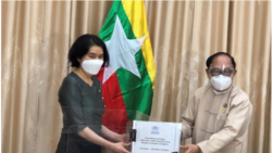 မန္မာကုိ UNHCR က ကုိဗစ္ စမ္းသပ္ကိရိယာ ငါးေသာင္းလႈ