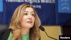 سارا لی ویتسون، مدیر دیدبان حقوق بشر خاورمیانه