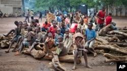 Anak-anak pengungsi Burundi di kamp pengungsi Gashora, Bugesera, Rwanda (foto: dok).