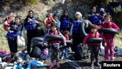 Sirijske izbeglice u Grčkoj