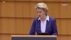 """""""Չորս երկարաձիգ տարիներից հետո Եվրոպան կրկին ընկեր կունենա Սպիտակ տանը"""". Ուրսուլա Ֆոն դեր Լեյեն, Եվրոպական հանձնաժողովի նախագահ"""