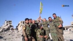 Syria's Raqqa Captured From IS Militants