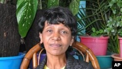 Former nurse Abeline Baholiarisoa, 59, spent 15 years trapped as a slave maid in Lebanon