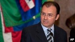 Menteri Keuangan Meksiko Luis Videgaray mengecam usulan kandidat Capres AS dari partai Republik, Donald Trump (foto: dok).