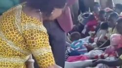 First Lady Auxillia Mnangagwa Gives Prisoners Goodies