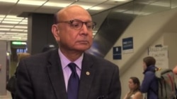 Khizr Khan Volunteering Legal Service at Dulles Airport