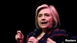 ہلری کلنٹن 2016 کے صدارتی انتخاب میں صدر ٹرمپ سے ہار گئی تھیں