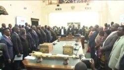 Mutungamiri weNyika, VaRobert Mugabe, Vosvereredzwa Vachitaura paChirongwa cheState of the Nation Address