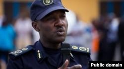 Theos Badege, umuvugizi w'igipolisi c'u Rwanda