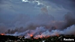 Požar u okolini Atine