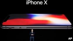 蘋果公司首席執行官蒂姆·庫克(Tim Cook)在今年9月的蘋果新品發布會上