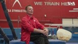 Емігрант з України підготував чоловічу збірну США зі спортивної гімнастики до чемпіонату світу. Відео