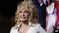 "Dolly Parton arrives at the Los Angelespremiere of her movie ""Joyful Noise"""