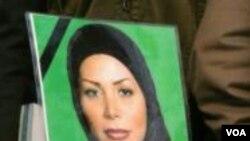 Neda Agha-Soltan menjadi simbol perjuangan oposisi di Iran.