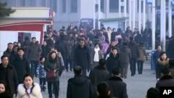 Suasana di Pyongyang, Korea Utara, 30 Januari 2020. (Foto: videograb).