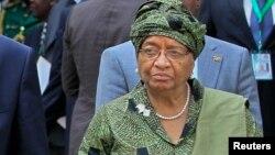 Shugabar kasar Liberia Ellen Johnson Sirleaf mai barin gado