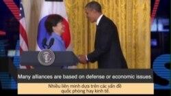 Học từ vựng qua bản tin ngắn: Alliance (VOA News Words)