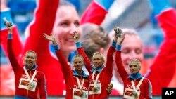 """د روسیې د المپیک مقامات او ورزشي روزونکي وایي باور لري چې لوبغاړو یې """"غلط او ناوړه کار نه دی کړی"""""""