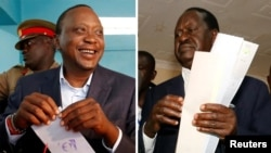 Kenyatta and Raila
