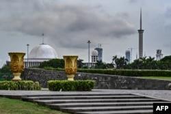 Masjid Agung Istiqlal, Jakarta, 12 Desember 2019.