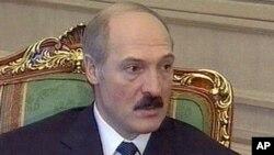 白俄羅斯總統盧卡申科(資料圖片)