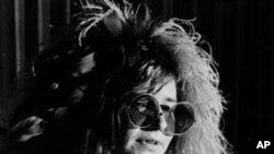 女歌星Janis Joplin (资料照片)
