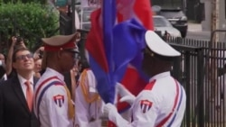 Cuba Flag-Raising Set; Human Rights Concessions Sought