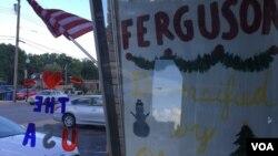 """弗格森的""""我爱弗格森商店""""。"""
