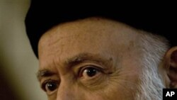Burhanuddin Rabbani (file photo)
