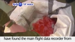 VOA60 World PM - Data Recorder From Russia Plane Crash Recovered