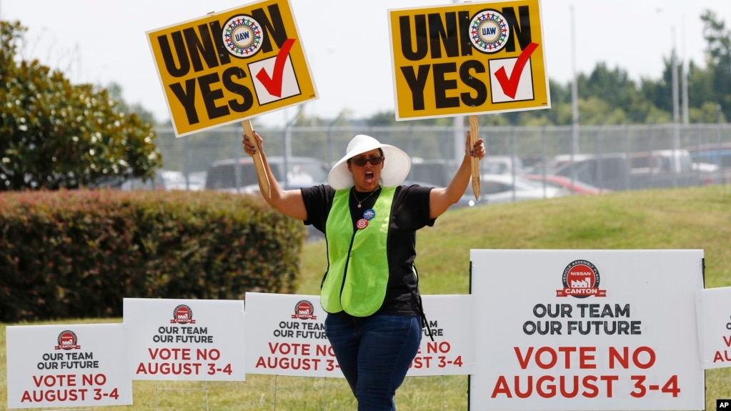 Mississippi Nissan Workers Reject Union