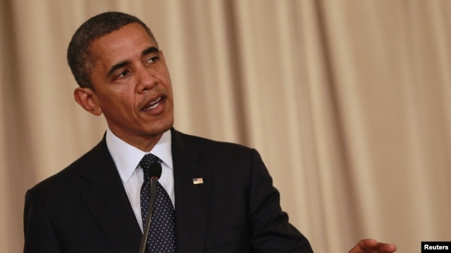 Presiden Barack Obama mengatakan, ia melakukan pembicaraan telepon dengan para pemimpin Timur Tengah untuk mencari solusi bagi krisis di Jalur Gaza (18/11).