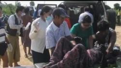 2012-11-10 美國之音視頻新聞: 緬甸運油火車出軌起火至少25人死
