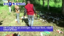 VOA60 Africa - Congo Rebels Kill 15