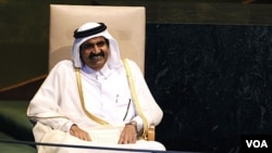 Emir Qatar , Sheikh Hamad bin Khalifa al-Thani (foto: dok). Qatar berusaha membantu upaya rekonsiliasi di Afghanistan.