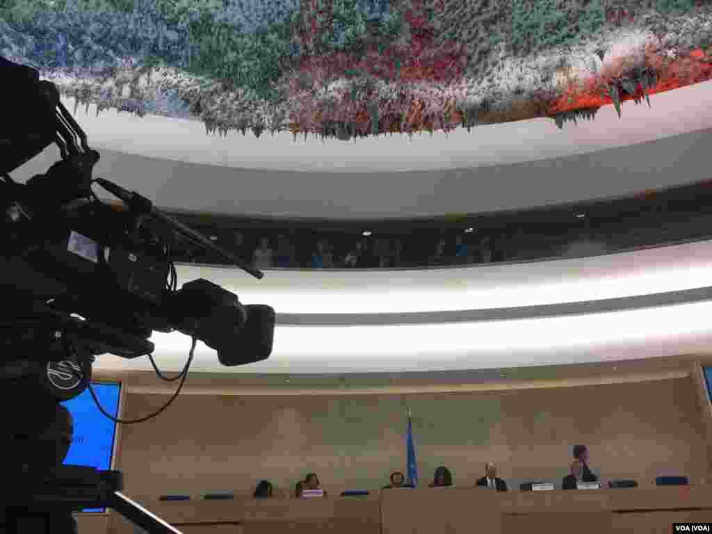 سی و چهارمین نشست حقوق بشر سازمان ملل با محوریت بررسی پرونده نقض حقوق بشر در ایران