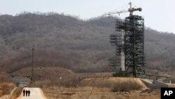 朝鲜西海卫星发射场。(资料照片)