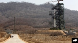Fasilitas peluncuran roket Korea Utara di stasiun Sohae, Tongchang-ri (foto: ilustrasi).