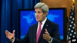 """وزیر خارجه آمریکا در واکنش به حمله به بیمارستانی در سوریه که منجر به کشته شدن دهها نفر شد، گفت """"به شدت عصبانی هستیم."""""""