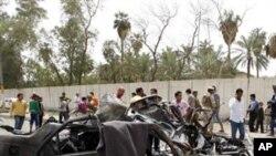 یهک له تهقینهوهکانی ڕۆژی یهکشهممهی ناو بهغدا، 4 ی چواری 2010