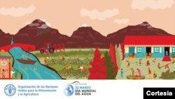 El mundo celebra el Día Mundial del Agua el 22 de marzo de 2021. [Foto: Cortesía]