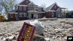 Las ventas de casas nuevas en EE.UU. disminuyeron menos de lo previsto en agosto.
