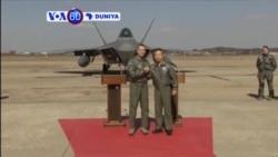 VOA60 DUNIYA: SOUTH KOREA Amurka Ta Tura Jiragen Yakin Hudu Kirar F-22 Zuwa Korea Ta Kudu, Fabrairu 17, 2016