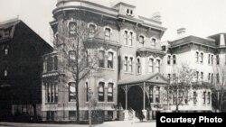 1900년대 초 미국 워싱턴 대한제국공사관 전경. (문화유산국민신탁 제공)