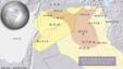 伊斯兰国影响或控制的叙利亚和伊拉克领土
