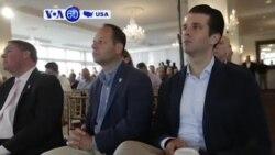 Manchetes Americanas 10 Julho: Donald Trump Jr econtrou-se com advogada ligada ao Kremlin