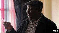 Former Prime Minister Morgan Tsvangirai.