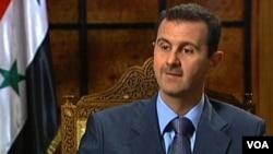 Presiden Suriah Bashar-al-Assad mengatkan masih membuka pintu dialog bagi kelompok oposisi Suriah untuk berdamai (foto: dok).