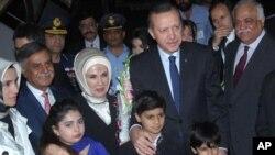 ترک وزیراعظم اتوار کی رات اسلام آباد پہنچے