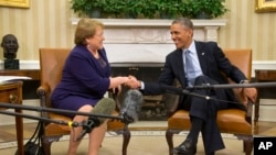 President Obama and Chilean President Bachelet. (June 30, 2014)